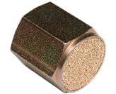 sintered bronze npt - female