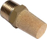 sintered bronze npt - male